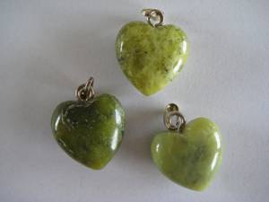 Bilde av Anheng Serpentin Grønn hjerte