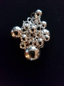 Bilde av Anheng kuler i klynge sølv
